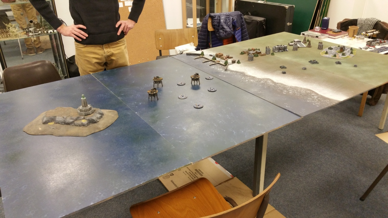 The battle for vlissingen battle reports warcradle for Table 6 hours